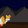 Tails running in night by GaussianCat