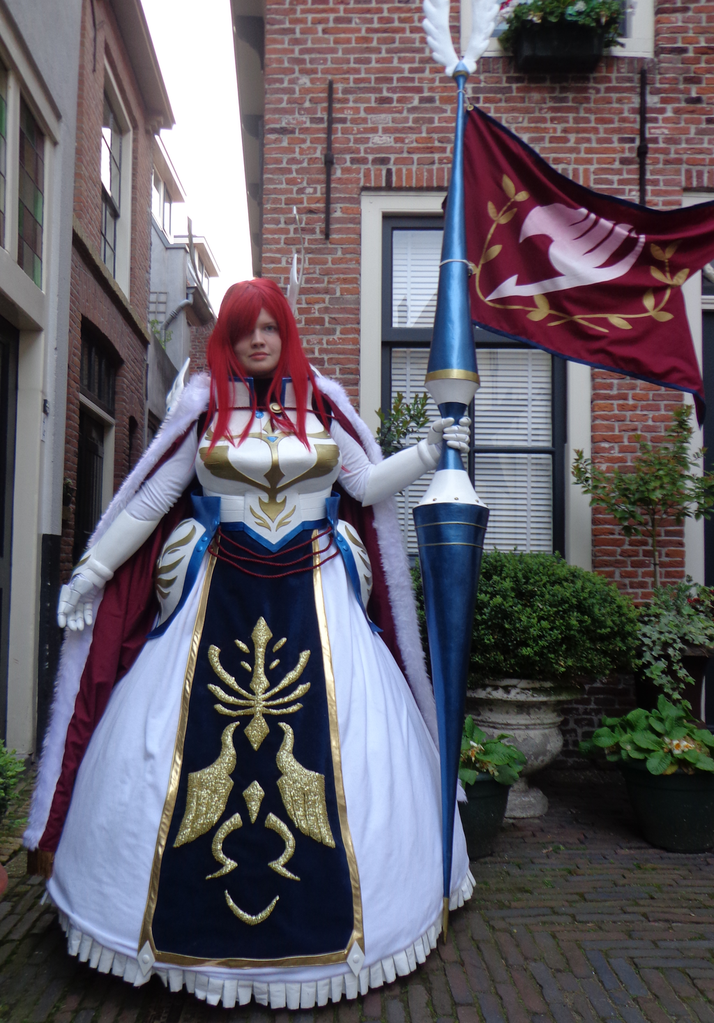 erza farewell armor cosplay by envoysoldiercosplay on