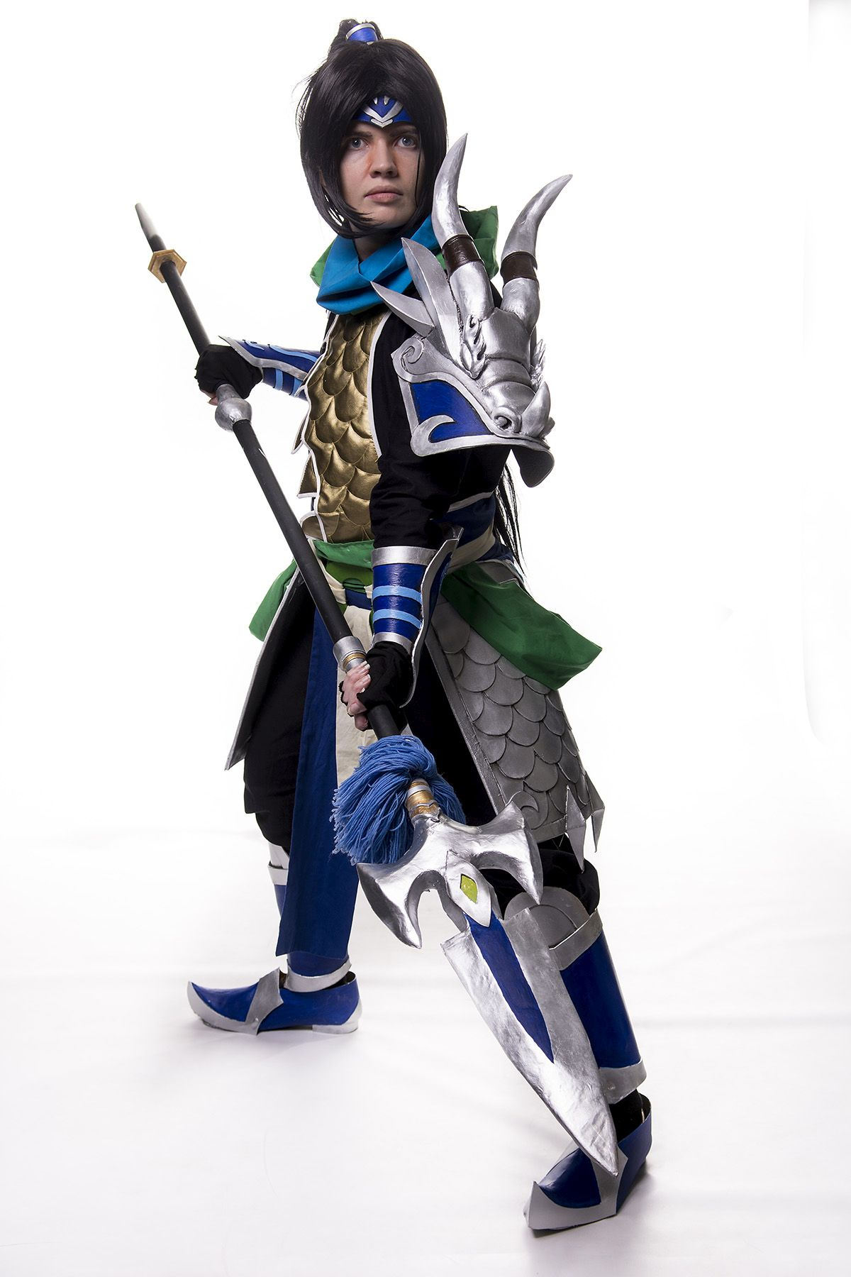 Warringkingdoms Xin Zhao cosplay by envoysoldiercosplay on ...