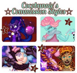 Commissions [Style 1, 2, and 3 Open!~]