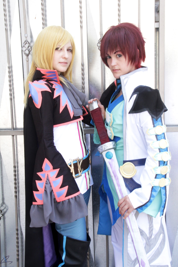 Richard and Asbel by GracefulGlider