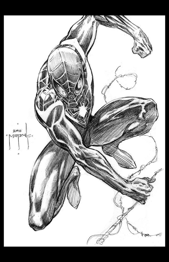 Spiderman - ultimate style - Jason Metcalf by JasonMetcalf
