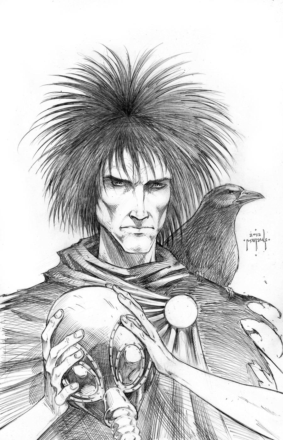Sandman portrait - Jason Metcalf by JasonMetcalf