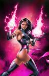 Psylocke - by Jason Metcalf and Ula Mos