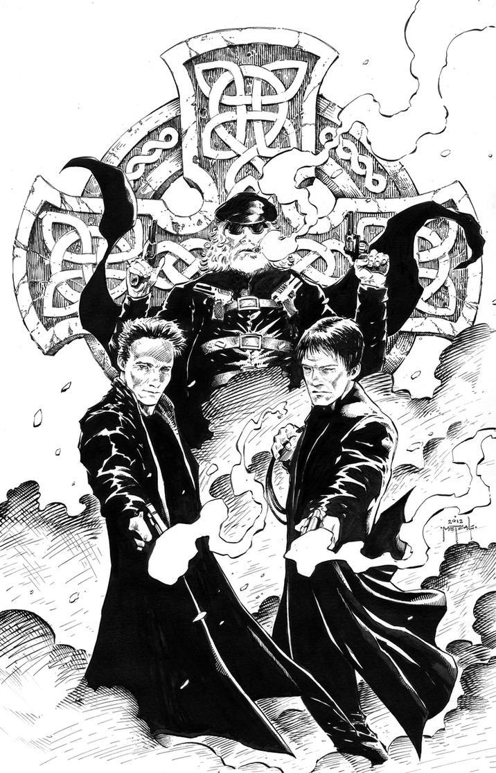 Boondock saints by jason metcalf by jasonmetcalf on deviantart - Boondock saints cartoon ...
