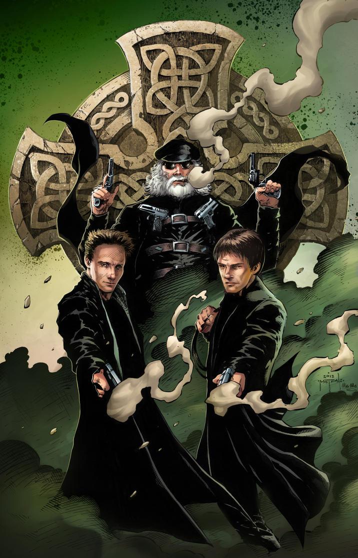 Boondock saints by jason metcalf and ula mos by - Boondock saints cartoon ...