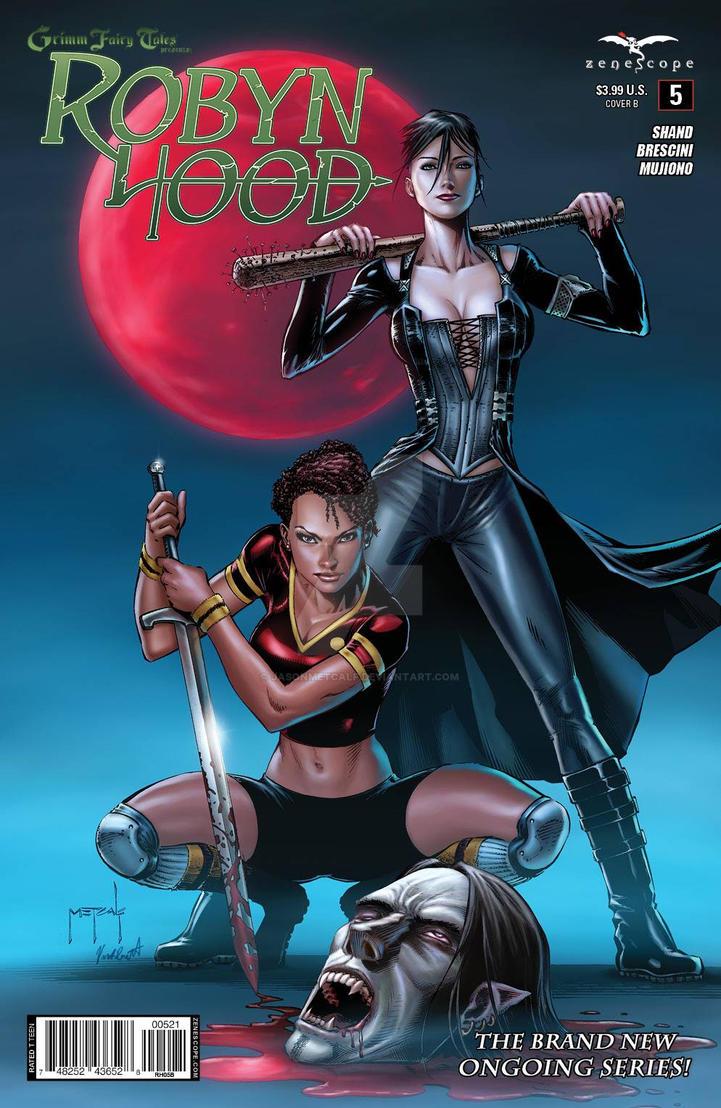 Robyn Hood #5 Cover - Zenescope - Jason Metcalf by JasonMetcalf