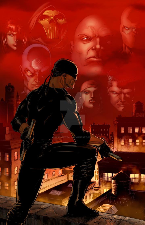 Daredevil 2015 - Jason Metcalf    Ivan Nunes by JasonMetcalf