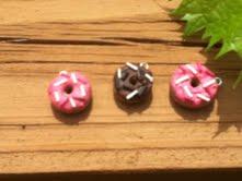 Polymer Clay Donuts by thepurpleunicorn