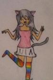 Nyan Cat Girl by thepurpleunicorn