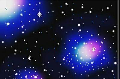drew a galaxy using Adobe! by sackuchi