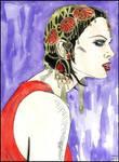 Kristen McMenamy by MayaOsina