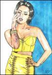 Demi Lovato by MayaOsina