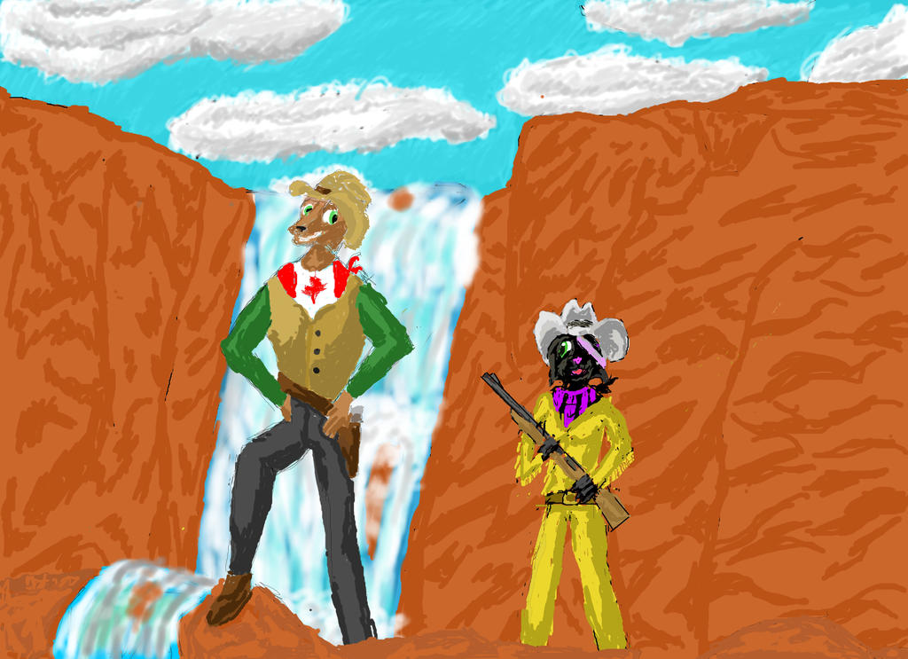 western adventure with Andrew and Darkstar by skyworthy