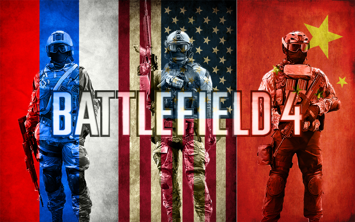 BF4 Assault w/flags Wallpaper by MisterMasada ...