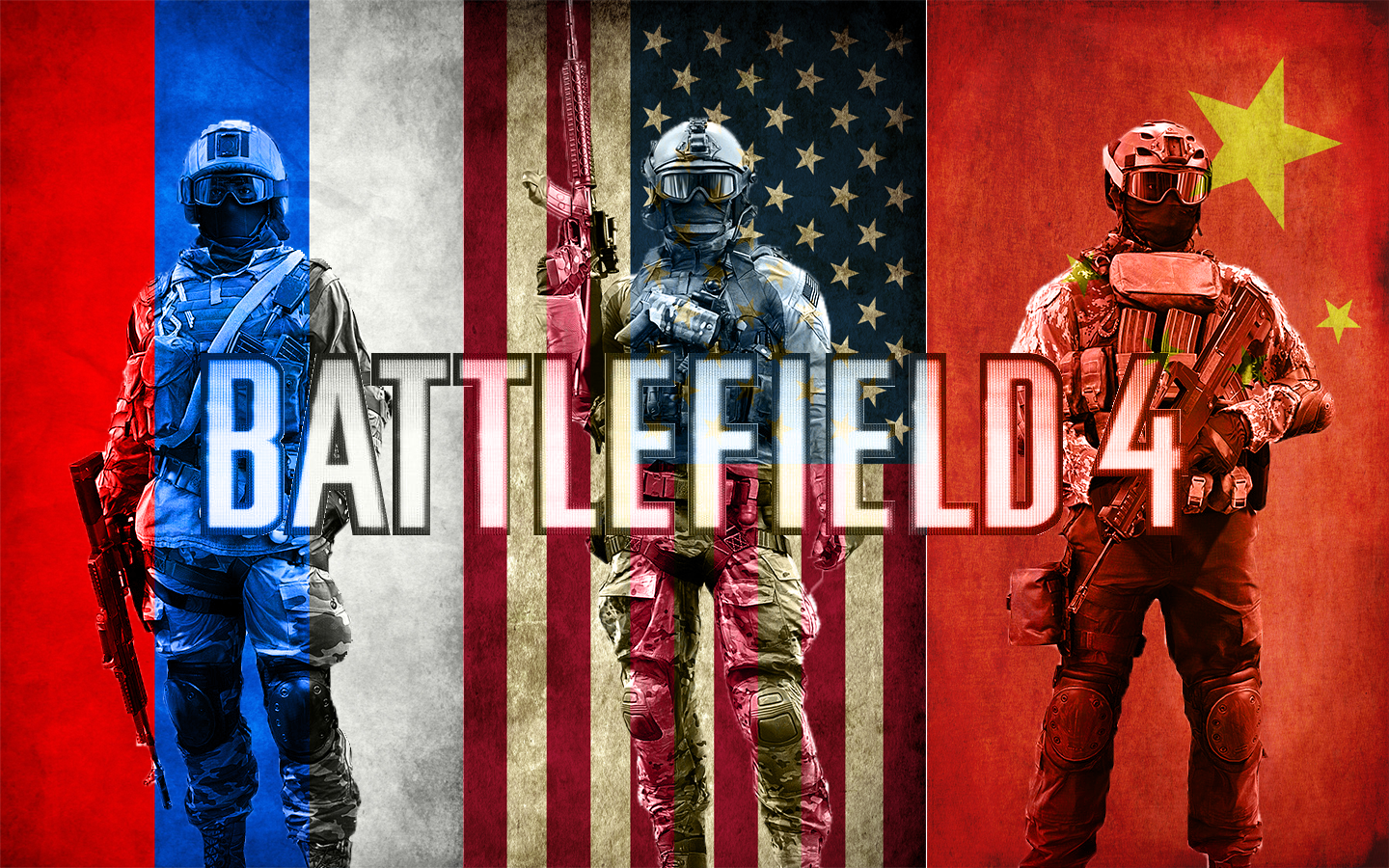 Bf4 assault w flags wallpaper by mistermasada on deviantart - Bf4 wallpaper ...