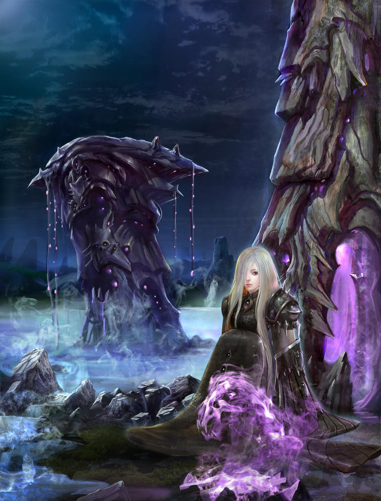 Shadow Priest-Aimee by A-Sloudi