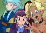 Hello Baby! Tenchi Screen Redraw by EvilLexie