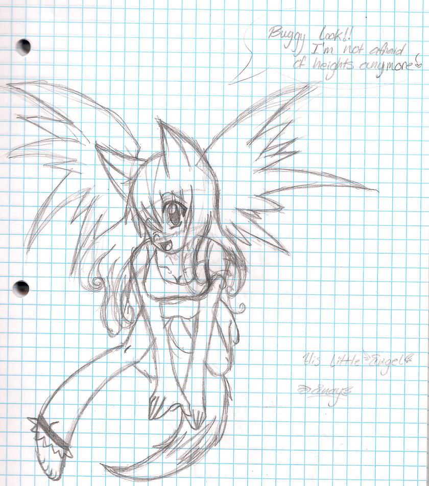 little angel by OreoMilu
