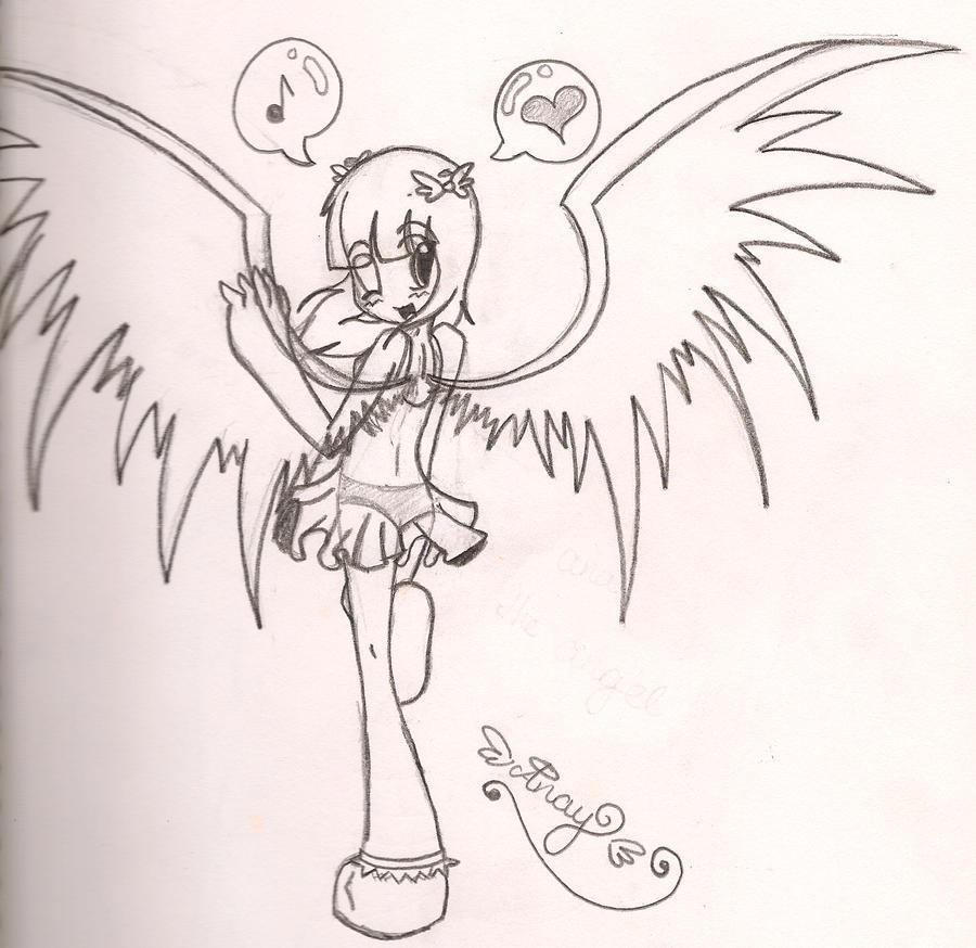 anay the angel by OreoMilu