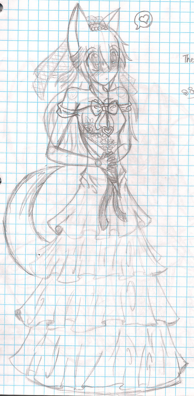 Ana the bride by OreoMilu