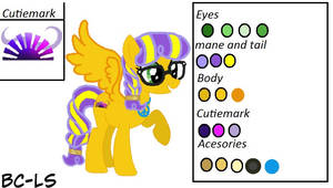 Sunrise Glisten's Reference Sheet [Read Desc] by BC-LS