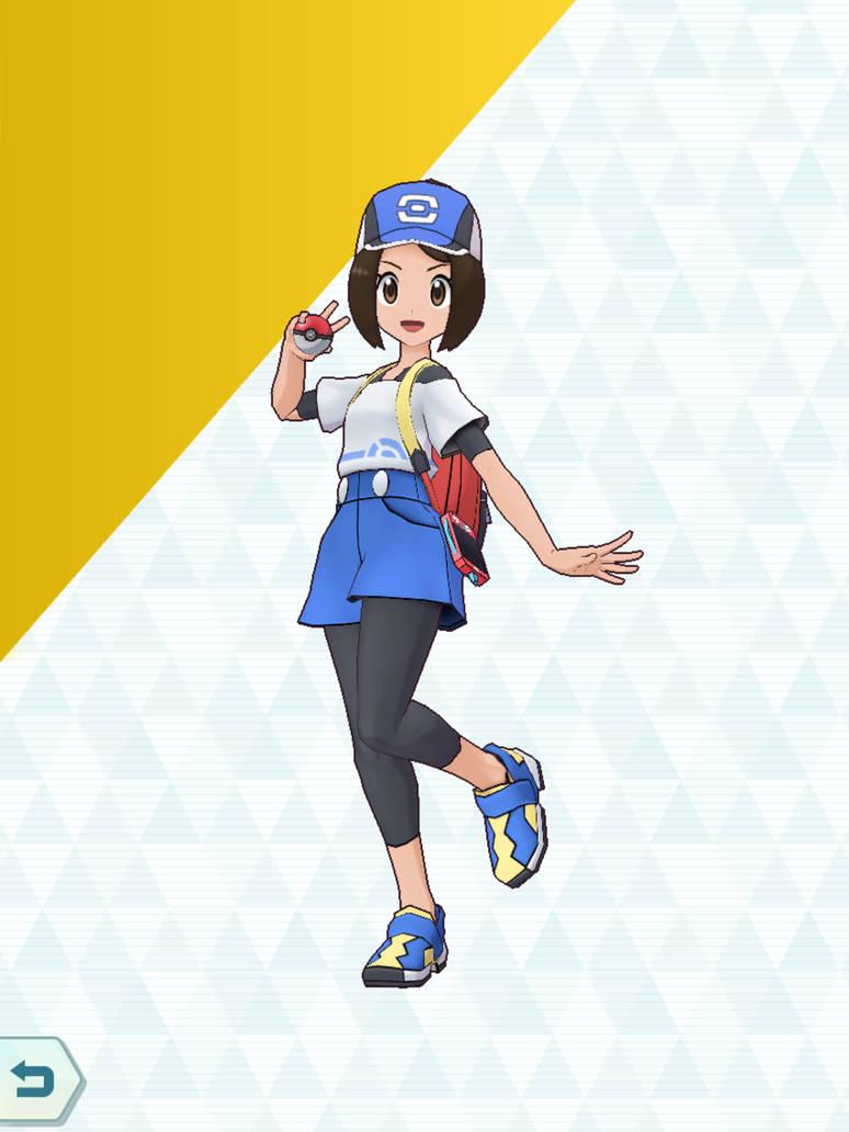 Pokemon Masters OC - Melain