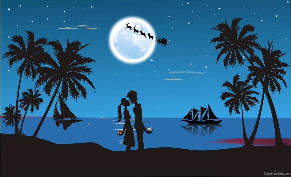 Beach Christmas by hiaamir