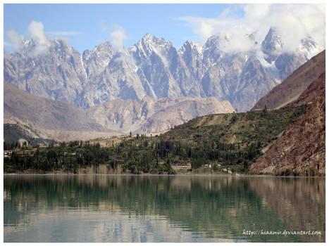 Hunza Valley - Ata Baad Lake - Pakistan