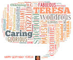 Happy Birthday Teresa by hiaamir