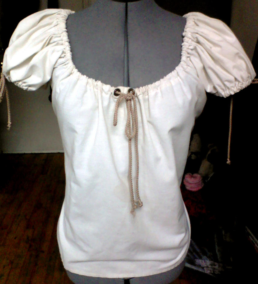 how to make a peasant blouse