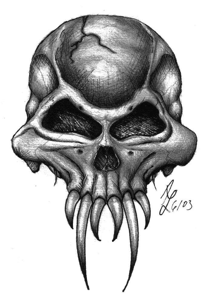 Demon skull by puffnstuff626 on deviantart - Devil skull wallpaper ...