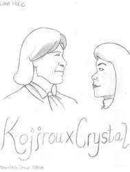 KojirouXCrystal -- Love Holic by RogersGirl