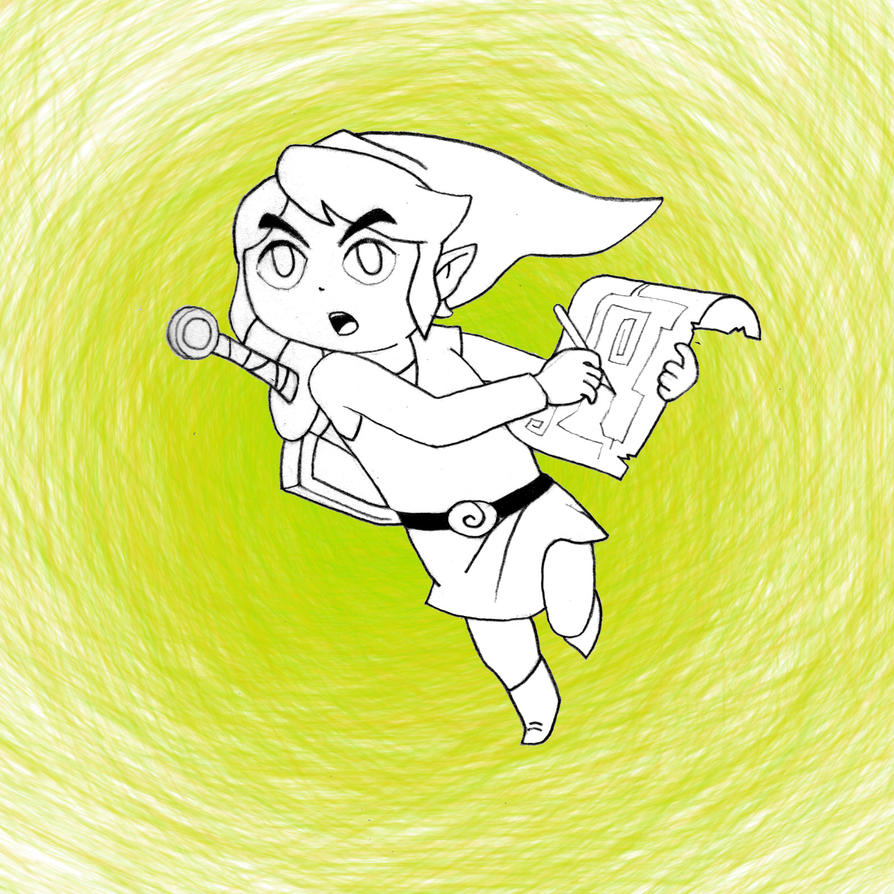 12. Link #DrawingAlongSummer by ThonoLanMP