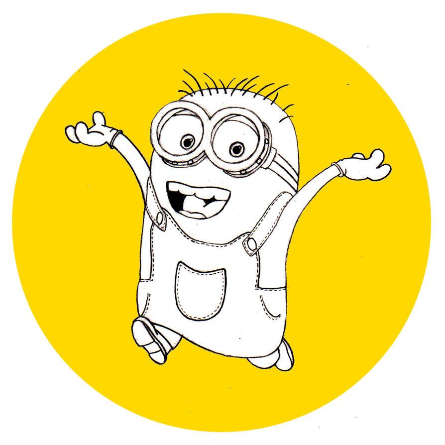 14. Minion (Despicable Me) #DrawingAlongSummer by ThonoLanMP