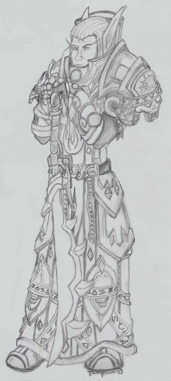 Valkrian the Stalwart Knight by artisticseggi