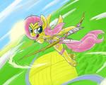 Peacewarrior Fluttershy