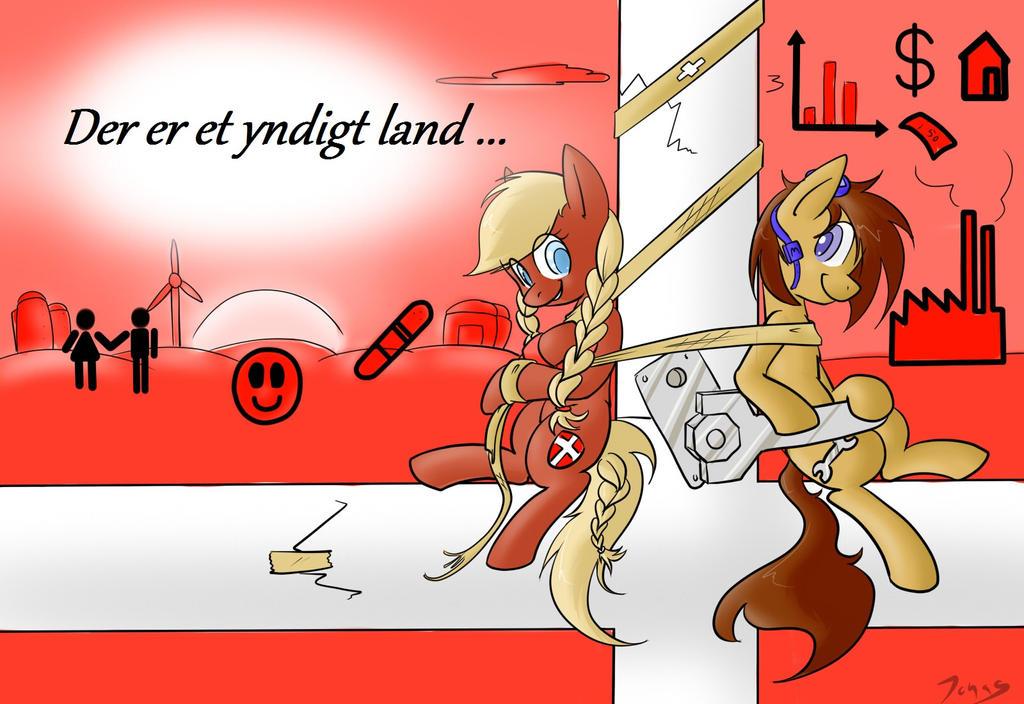 Yndigt land by Animeculture