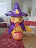 Halloween Pikachu by Amber2002161