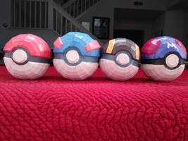 Pokeball Set #1 by Amber2002161