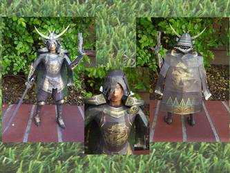 Masamune Date papercraft by Amber2002161
