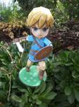 Legend of Zelda: Breath of the Wild Link Papercraf by Amber2002161