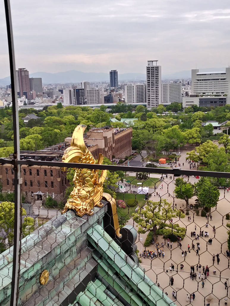 View from Osaka Castle by Amber2002161