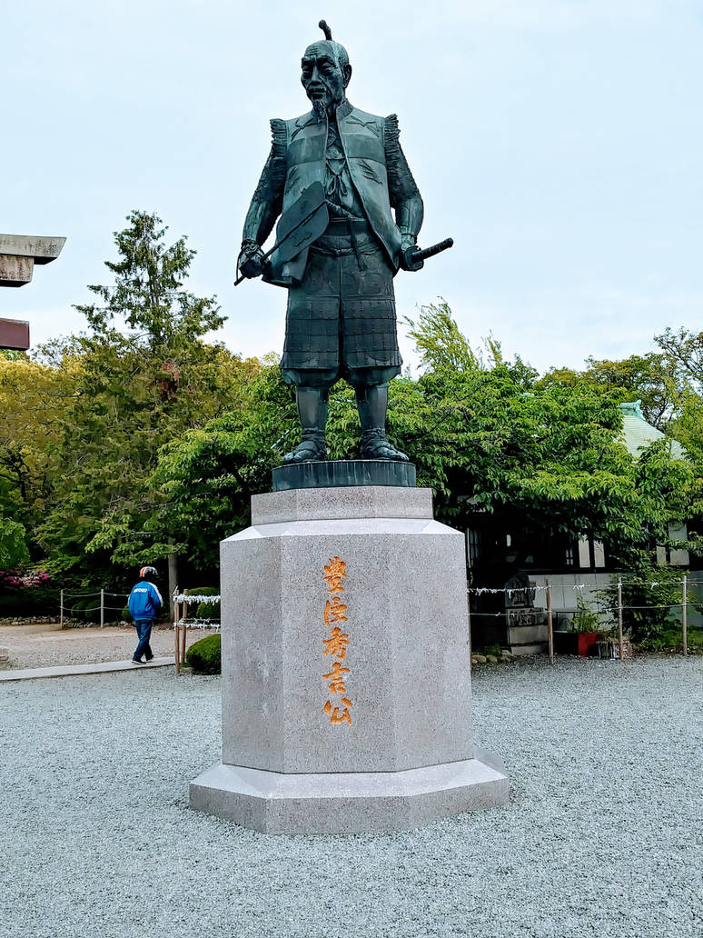 Statue of Hideyoshi Toyotomi by Amber2002161