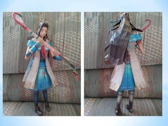 Lady Hayakawa papercraft by Amber2002161