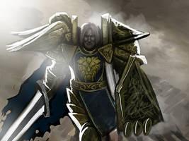 Highlord Bolvar Fordragon by Jason-Troxell