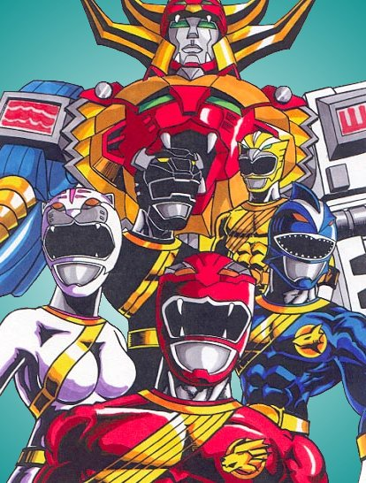 Power Rangers Wild Force By Gonzo1701