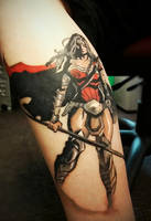 WonderWoman tattoo