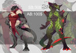 Dragon Auction SOLD