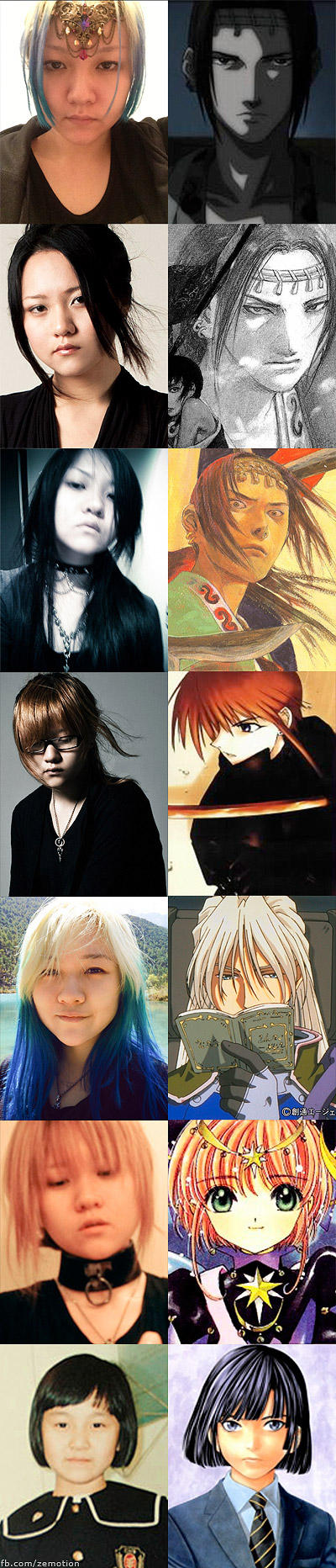 My life of anime/manga hair